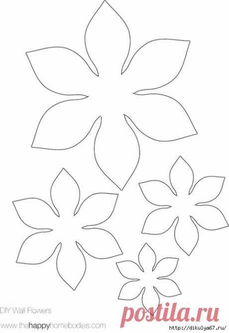 Броши - цветы из фетра