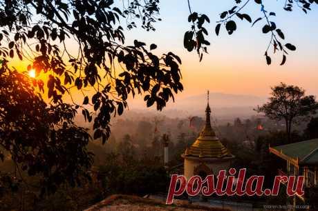 Прогулка по монастырям в Бирме | Мой дом