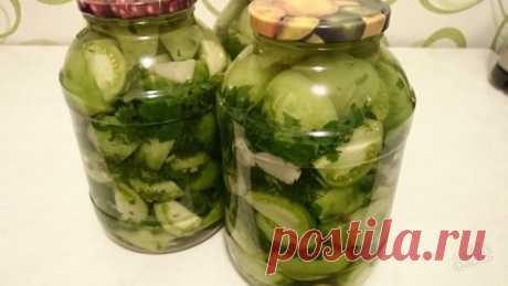 Салат из зеленых помидоров «Изумрудный» на зиму | По Секрету Всему Свету | Яндекс Дзен