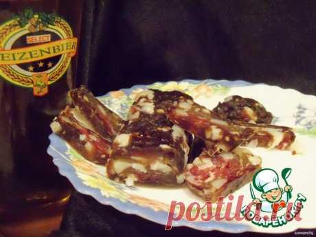 Сыровяленая колбаса Кулинарный рецепт