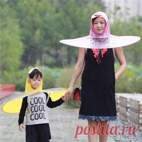 Как вам зонтики?