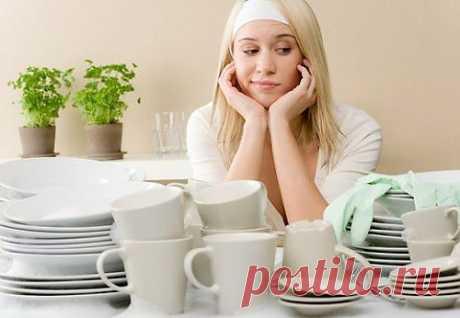 Моем посуду правильно — маленькие хитрости | My Milady