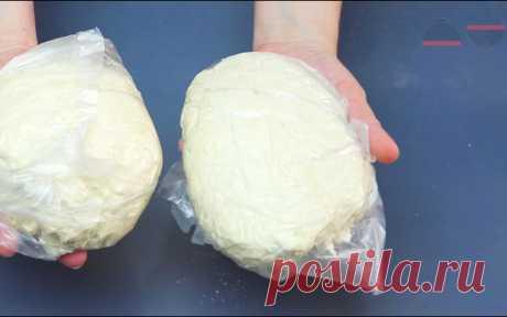 Дрожжевое тесто за 5 минут: долго хранится, быстро не перекисает, можно замораживать (и всегда получается) | Кухня наизнанку | Яндекс Дзен