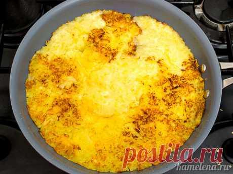 картофель с селедочным соусом