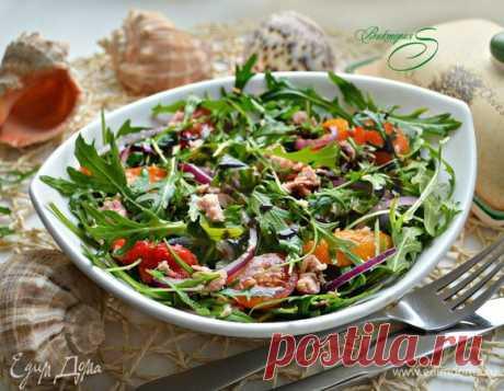 Салат с руколой, тунцом и овощами рецепт 👌 с фото пошаговый | Едим Дома кулинарные рецепты от Юлии Высоцкой