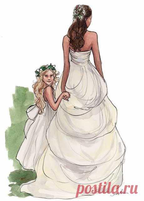 Свадебные иллюстрации