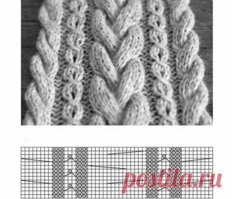 Как связать модный шарф-хомут, снуд, шарф-капюшон и шарф с крупными косами!