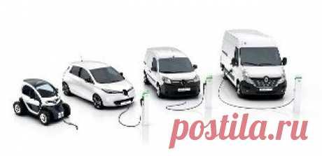Автономный электропривод - Renault