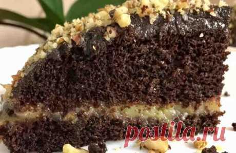 La torta vkusneyshy, que se puede comer y durante el Puesto. ¡Sin aceite, la leche y los huevos!