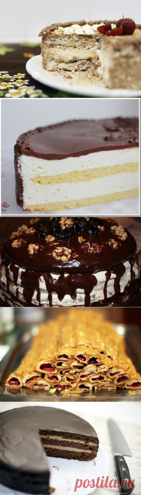 9 RECIPES ALL OF FAVOURITE CAKES FROM THE CHILDHOOD!