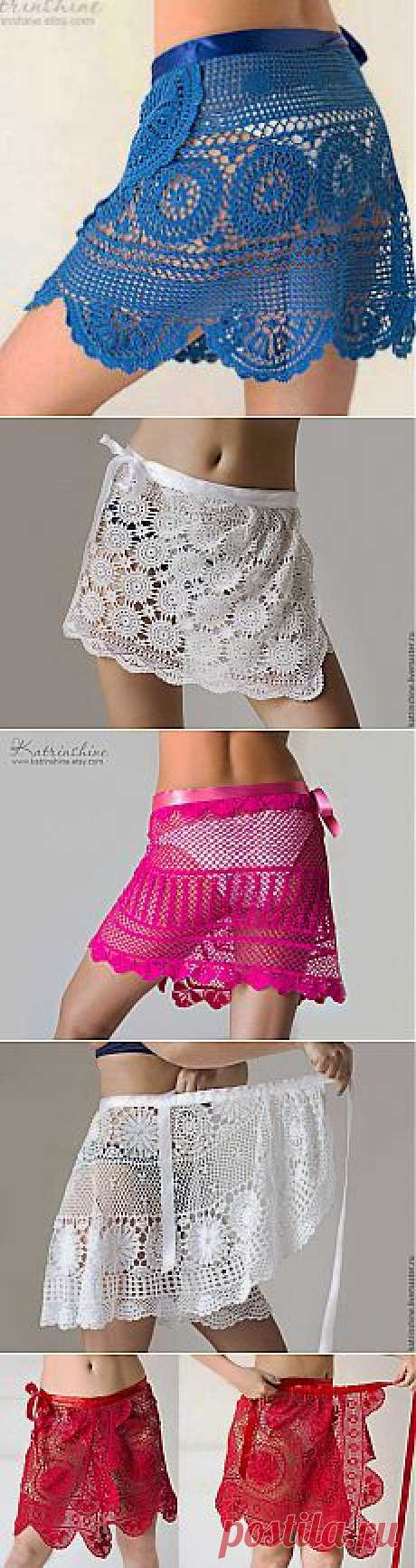 Пляжная юбка своими руками : Вязание на oleksi.ru