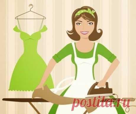 Как погладить вещи без утюга — Полезные советы