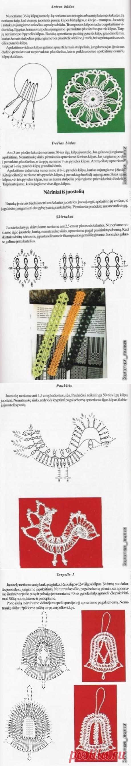 Книга по вязанию на вилке (Схемы и условные обозначения есть)