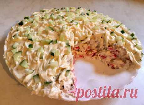 Салат «Морское дно» - Кулинарный блог Чтобы поднять настроение себе и своим близким, я иногда готовлю вкусный салат под названием «Морское дно». Его рецепт я узнала от своей подруги, которая поделилась со мной вкусным...