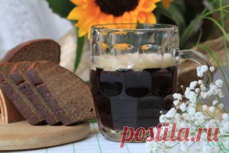 Рецепт живого хлебного кваса