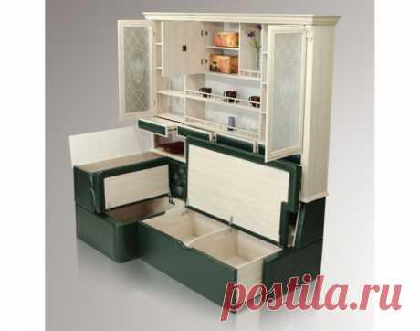 Хранение на кухне https://secondstreet.ru/blog/organizovannoe_hranenie/k..  Супервместительный кухонный уголок. Это он же в собранном виде: Читать дальше