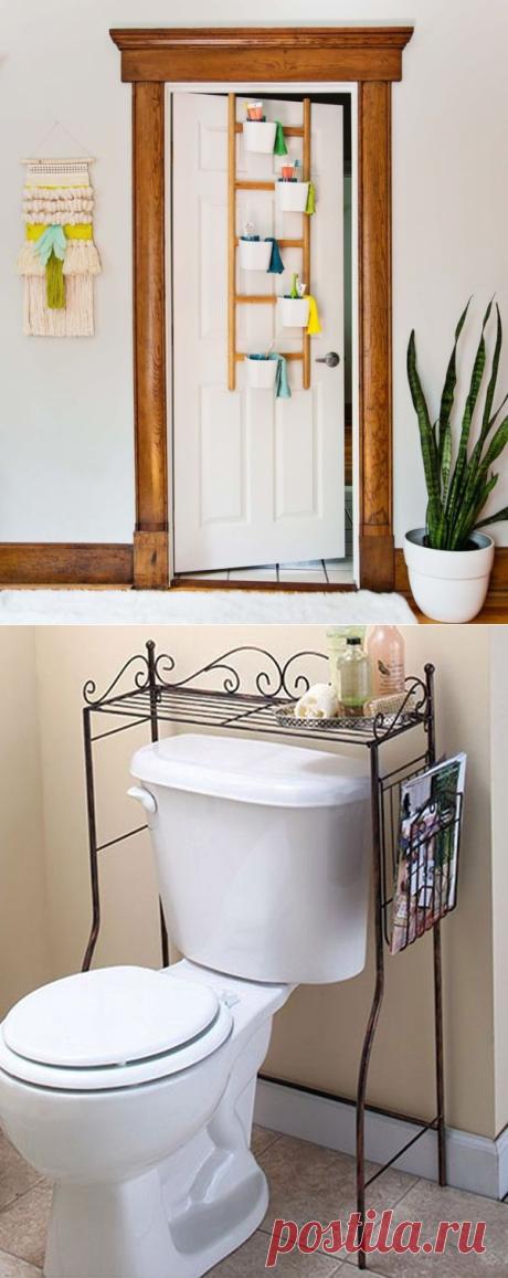 15 идей для организации пространства в ванной комнате