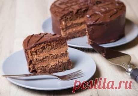 Торт прага простой рецепт с фото пошагово в домашних условиях