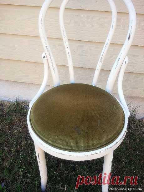 Pintar los muebles, sin quitar el cubrimiento viejo