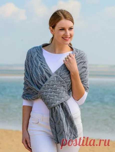 Необычные и очень теплые шарфы