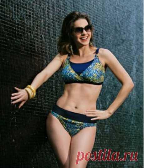 TOLEDO bikini- This elegant triangle look bikini with adjustable shoulder s