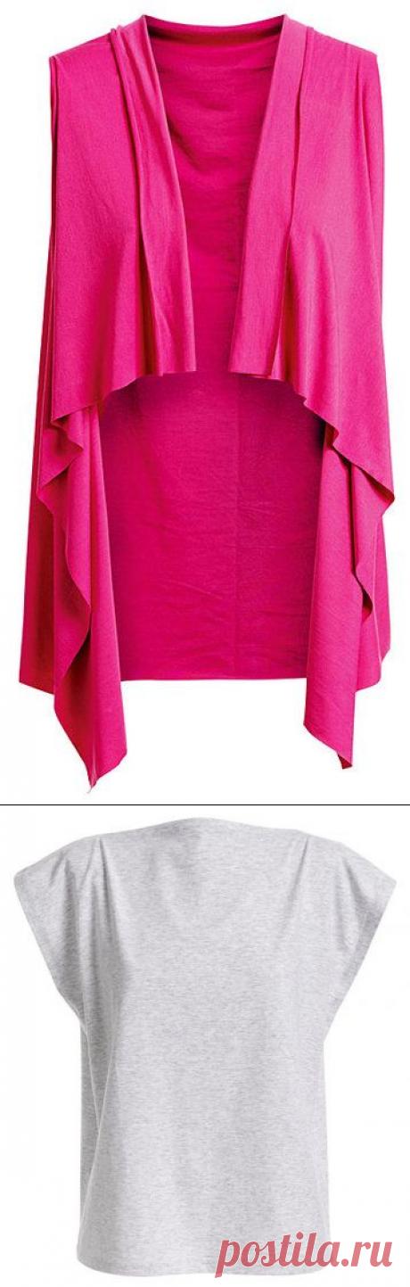Комплект одежды без выкроек — Делаем руками