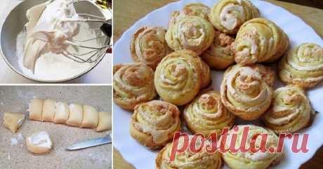 Как приготовить ароматное печенье в форме роз, секрет рецепта!