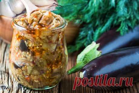 Закуска Баклажаны «как грибы» — два варианта — Вкусная еда