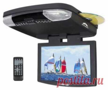 Потолочный монитор Challenger RE 1069 с диагональю 10,2 дюйма, форматом 16:9, встроенным DVD- проигрывателем и с широким углом обзора.Модель может работать с ИК-наушниками,но в комплект они не входят.При подключении аудиовыхода монитора к штатному головному устройству звук будет идти через колонки автомобиля.
