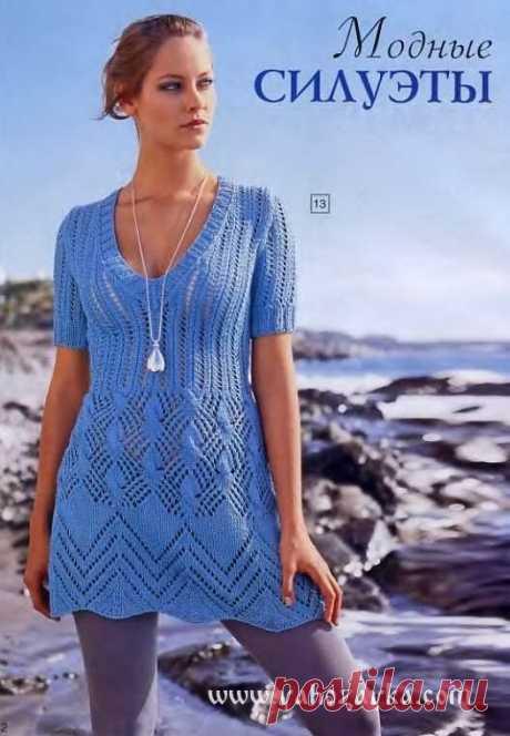 Летнее мини-платье спицами схема. Приталенное женское платье спицами Летнее мини-платье спицами схема. Приталенное женское платье спицами