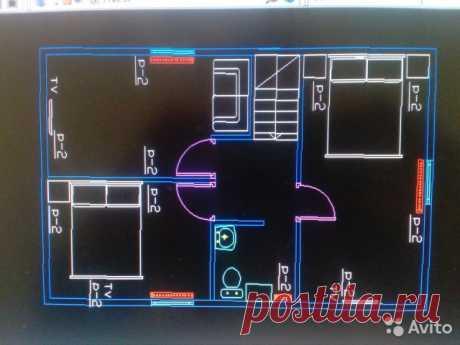 Дача 100 м²  2 этаж