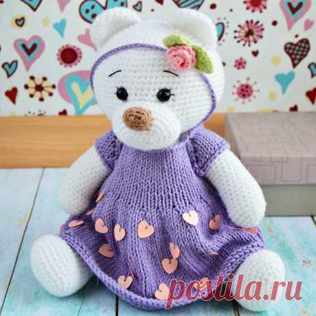 PDF Мишка Майя. FREE amigurumi crochet pattern. Бесплатный мастер-класс, схема и описание для вязания игрушки амигуруми крючком. Вяжем игрушки своими руками! Медведь, мишка, медведица, медвежонок, teddy bear, suportar, bär, ours, medvěd. #амигуруми #amigurumi #amigurumidoll #amigurumipattern #freepattern #freecrochetpatterns #crochetpattern #crochetdoll #crochettutorial #patternsforcrochet #вязание #вязаниекрючком #handmadedoll #рукоделие #ручнаяработа #pattern #tutorial #häkeln