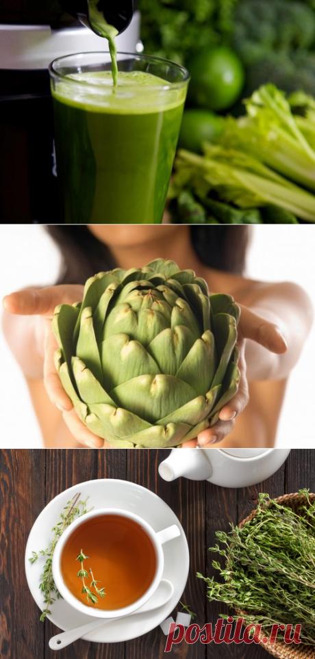 10 целебных настоев для избавления от токсинов - Шаг к Здоровью