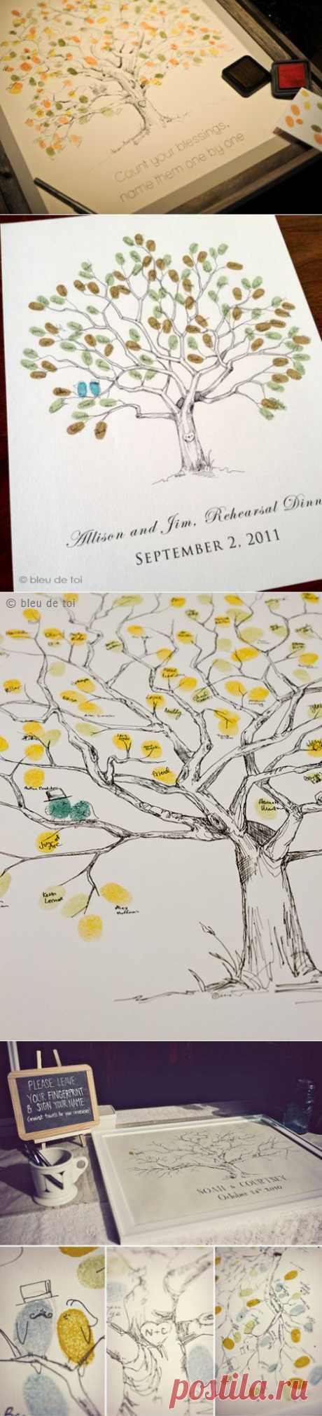 Дерево пожеланий на праздник (4 фото)