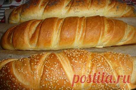 Багеты с масляной начинкой — Мой садочек