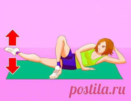 9 упражнений для быстрого похудения, которые можно делать дома без всякого железа и тренажеров | Всегда в форме!