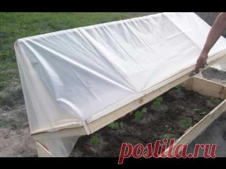 El Invernadero conveniente por las Manos Para los Pepinos. Las ideas Para la Casa de campo y la Huerta. Parnik