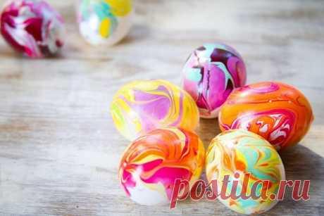 Пасхальные яйца: как красиво покрасить яйца на Пасху своими руками