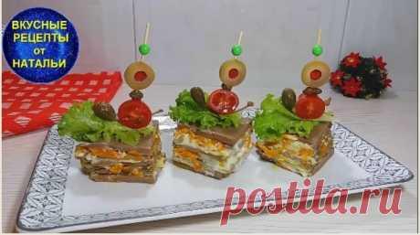 Печеночный Торт – Закуска на праздничный стол.Рецепт без выпечки блинов на сковороде. Сегодня  у меня очень легкий и быстрый рецепт вкусного,сытного печеночного торта без выпечки коржей на сковороде.Эта закуска займет достойное место на вашем праздничном столе.ИНГРЕДИЕНТЫ:Свиная печень – 300 грМука – 90 грМолоко – 100 млЯйцо – 1 штРастительное масло – 1 ст.л.СольПерецДля...