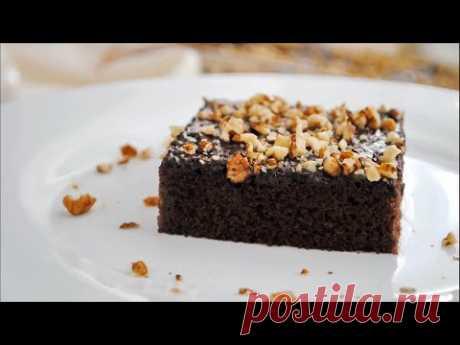 Простой шоколадный Пирог к чаю за считанные минуты 🌟 - YouTube