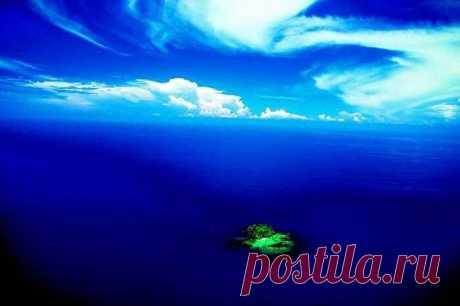 """Маленький островок """"Гарисса"""" недалеко от Австралии"""
