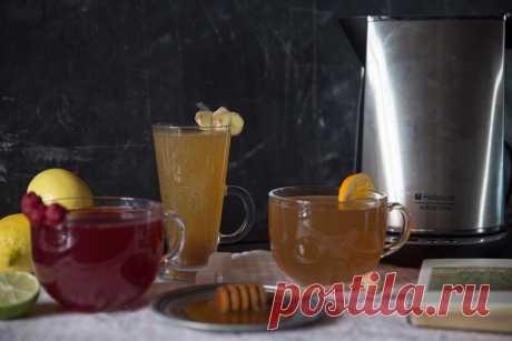 Три рецепта чая от простуды.