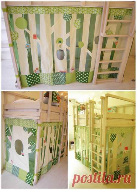 Домики для малышей - МК и идеи.