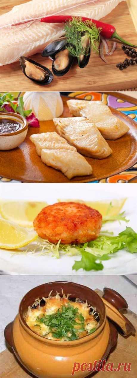 Вкусные и полезные блюда: готовим филе трески / Простые рецепты