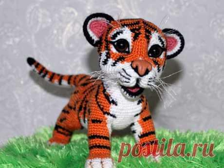 Как связать игрушку тигра крючком: схемы, описание, советы, фото, видео