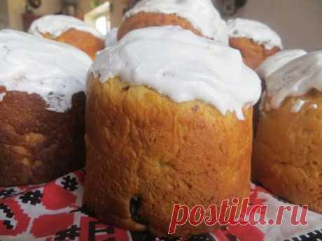Удивительное тесто на куличи Пасхальные - сайт кулинарии