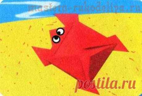Master class in origami: Turtle
