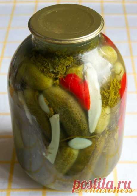 Солёные огурцы по дедушкиному рецепту