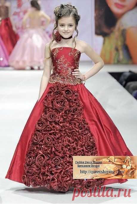 Платье ( ChiL 08 ) Размер: 90  100, 110, 120, 130, 140,150,160 Материал : сатин + атлас