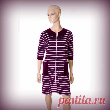 Удобный и мягкий домашний халат! ― Одежда для Вас